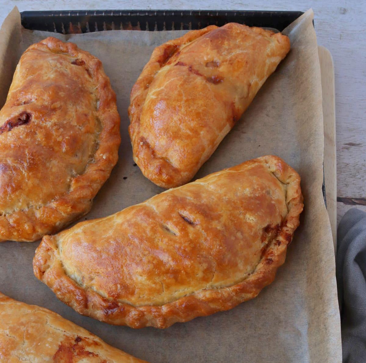 Cheese, Marmite & Potato Pasties