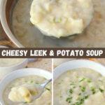 Cheesy Leek & Potato Soup