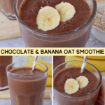Chocolate & Banana Oat Smoothie