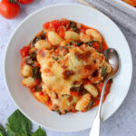 Tomato & Spinach Gnocchi Bake