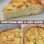 Brie & Leek Quiche