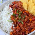 Vegetarian Mince Chilli Con Carne